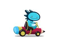 Game layout - Toys Kart