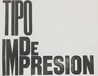 Tipo de Impresión