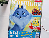 Storytime Magazine: Kisa the Cat