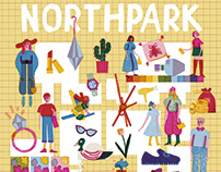 Northpark map