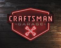 3D Neon - Craftsman Garage -