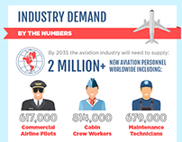 Aviation Forecast Infographic