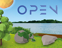 Open & Bloot - Festival Branding