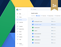 Google Drive redesign concept – UX design case study