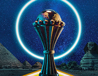 AFCON 2019 |EGYPT| Poster