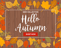 Autumn collection - illustration set