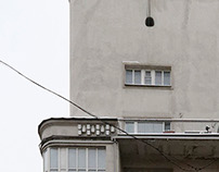 Dwelling House of Mossovet, 1930. Architect S. Kozlov