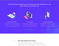 BlueOrion Landing Page