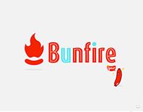 """Desarrollo de marca """"Bunfire"""""""