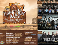 Frontier Days 2016 Poster