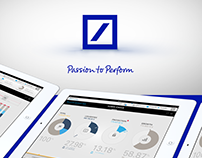 Deutsche Bank - Portfolio Manager mobile app proposal