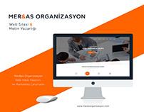 Mer&as Organizasyon Web Tasarımı