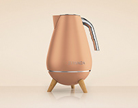 Ziyanda Kettle - Product Design