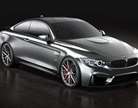 BMW M4 – Studio render 001