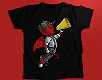 Diablito. T-shirt design