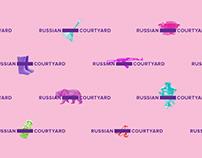 Russian Courtyard