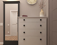 Hallway and wardrobe