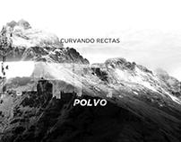 Polvo - Curvando Rectas CD Cover