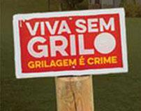 Posts para a campanha Viva sem grilo