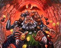 Dwarves in trouble promo art 2