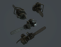 3d Chainsaw model