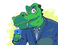 Business-crocs Like Selfies Too