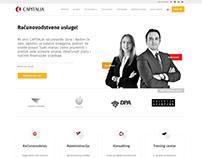 Capitalia.ba Web Site