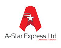 A Star Express Ltd Branding