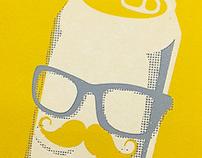 """Popcorn Posters"" AIGA Toledo Show Poster"