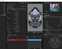 Adobe Character Animator: Overwatch's Winston