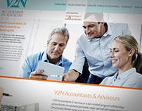 Huisstijl V2N Accountants & Adviseurs