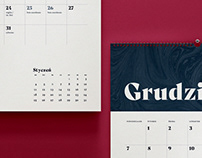 Personalized calendar 2020