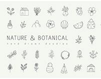 Minimalistic doodles pack