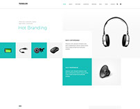 Computer Accessories / IT Web Templates