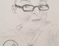 Recent Pencil and mixed media Art