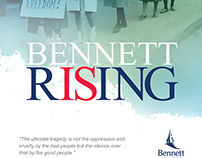 Bennett College - Bennett Is Rising Poster