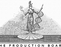 The Production Board Logo Illustrated by Steven Noble
