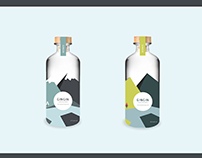 GINGIN brand and bottle design