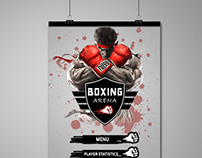 Boxing Game UI Design