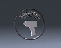 Borsheim Air Tool Repair Logo Animation