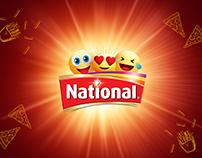 National Ketchup Social Media Advertisement