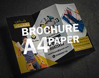brochures A4 paper