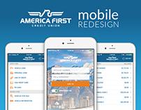 AFCU Mobile Redesign