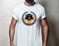 MD GYM Logo ve T-shirt tasarımı