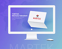 Tübitak Marmara Teknokent - Website Presentation