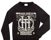 Принты для конкурса TRAILHEAD одежда