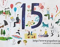 yoga fest YOKOHAMA 2018 | Client Work