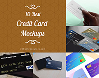 Best Free Realistic Credit/Debit Card Mockups 2020