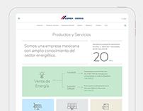 CEMEX Energy Website