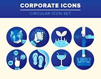 CORPORATE Icon Set